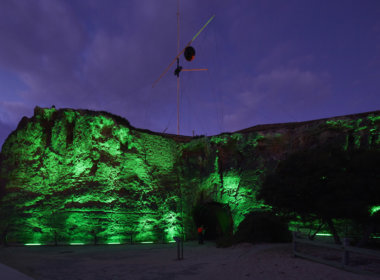 Arthur Head, Fremantle lit up green