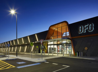 DFO retail precinct
