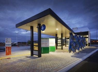 Aubin Grove Station platform
