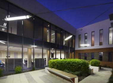 Autism Association courtyard