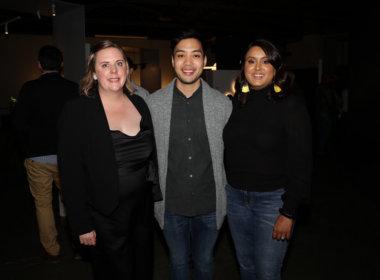 Tanya Aitken, David Ho and Andrea de Wind