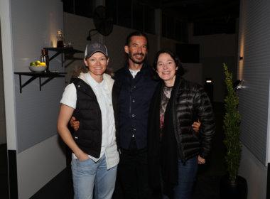 Jessye Harris, Anthony Bacic and Philipa Varris