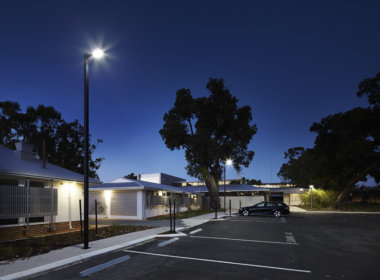 Bullsbrook College photo showing the Mondoluce supplied lighting