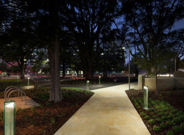 Florence Hummerston Reserve photo showing the Mondoluce supplied lighting