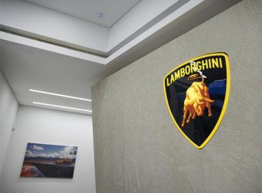 Lamborghini Perth showroom