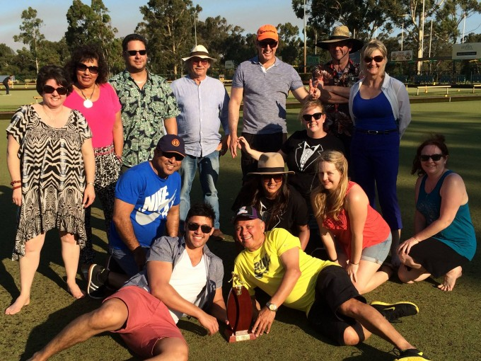 Mondoluce's Annual Lawn Bowls Championship 2014