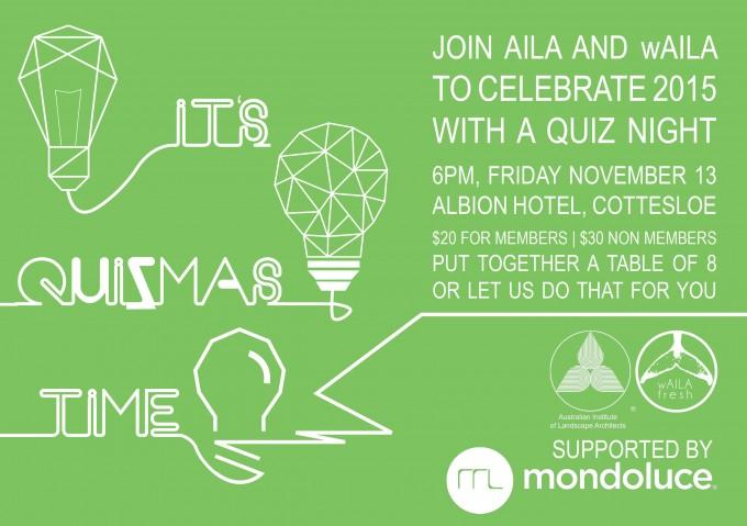 It's Quizmas Time – AILA + wAILA + Mondoluce