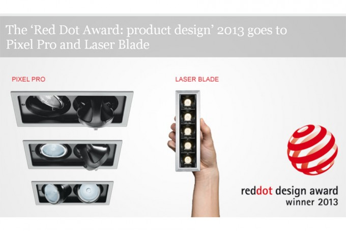 iGuzzini Winners at Red Dot Awards 2013