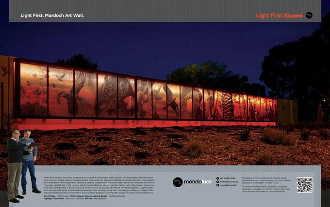 Murdoch Art Wall