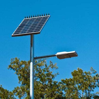 LED Solar Pole