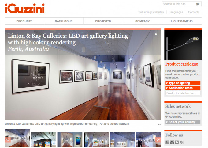 iGuzzini Features Linton & Kay Galleries