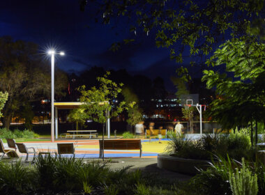 Wellington Square, Sports and Recreation lighting.